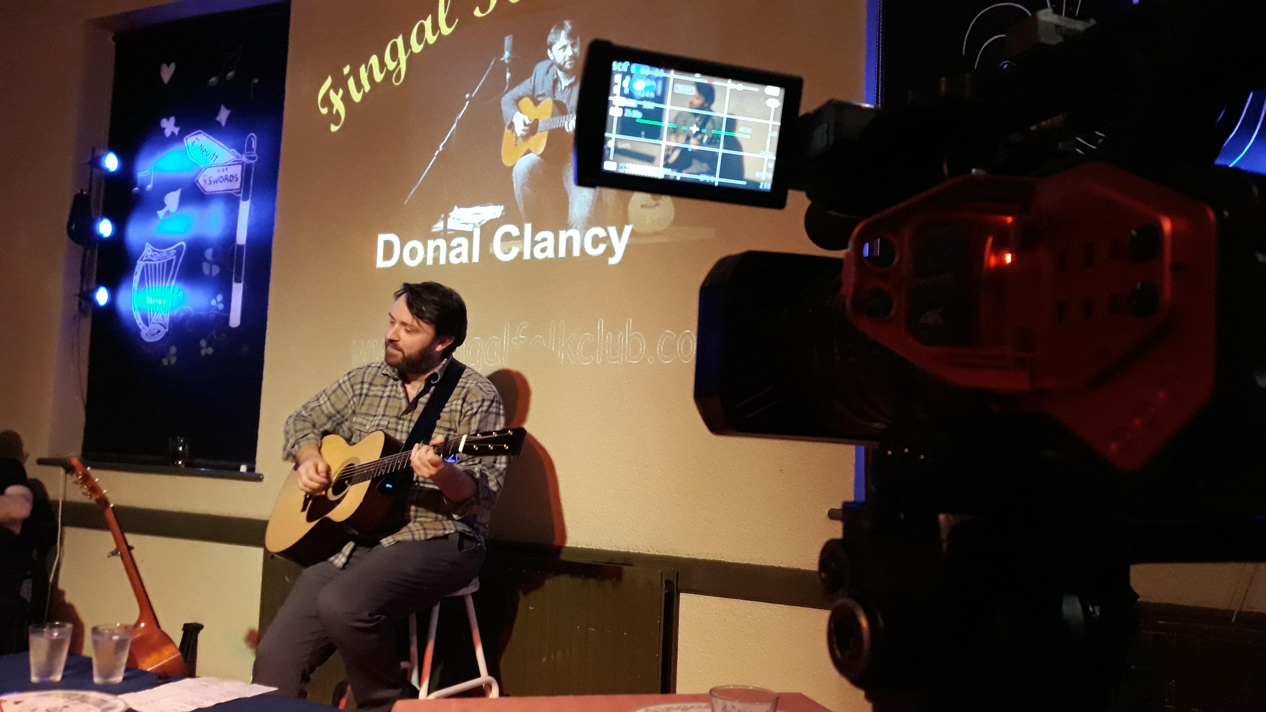 Donal CLancy LCD DVX 200