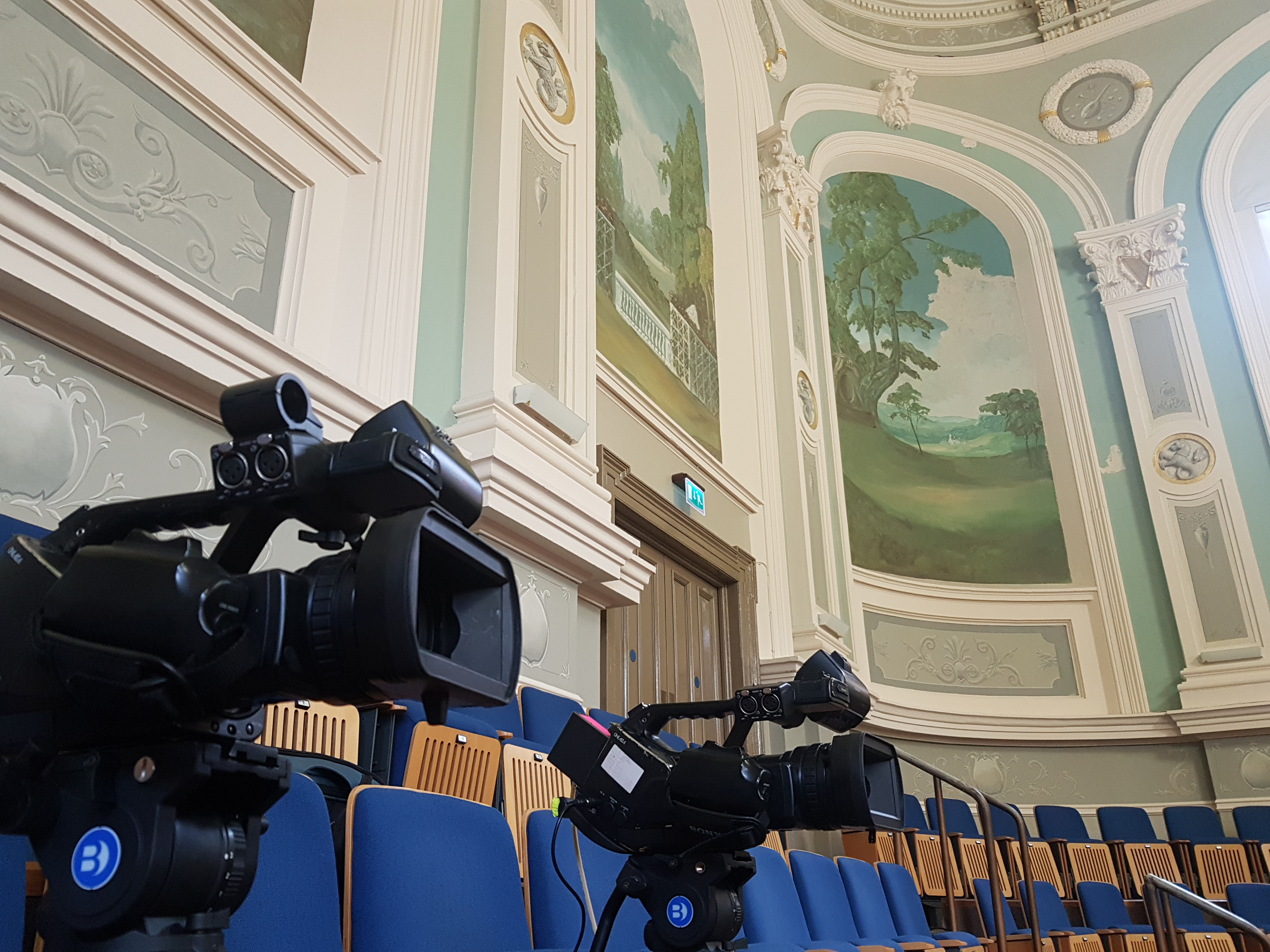 Ulster Hall Belfast Live Stream Camera Angles