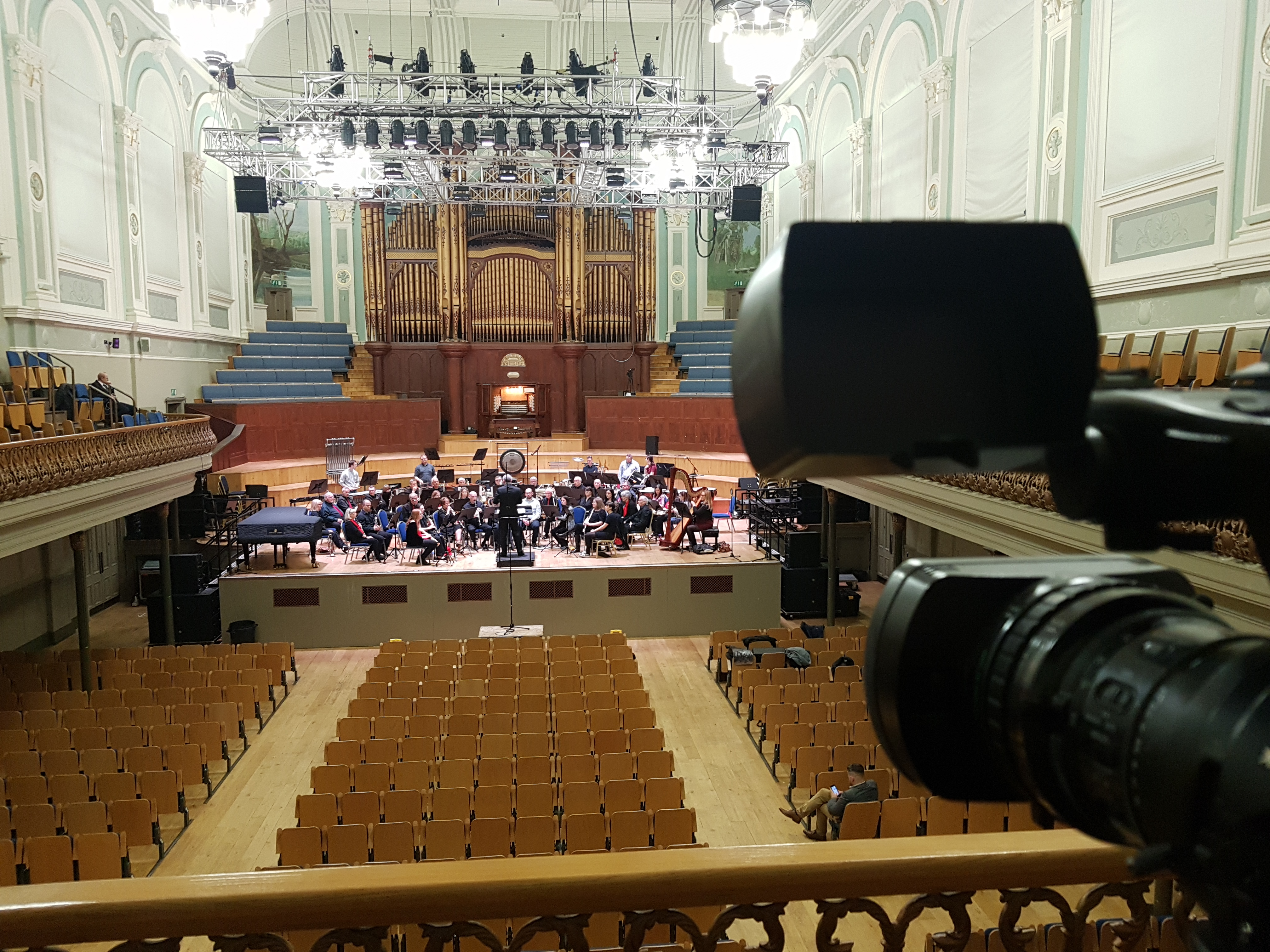 Ulster Hall Belfast Live Stream Camera Angle
