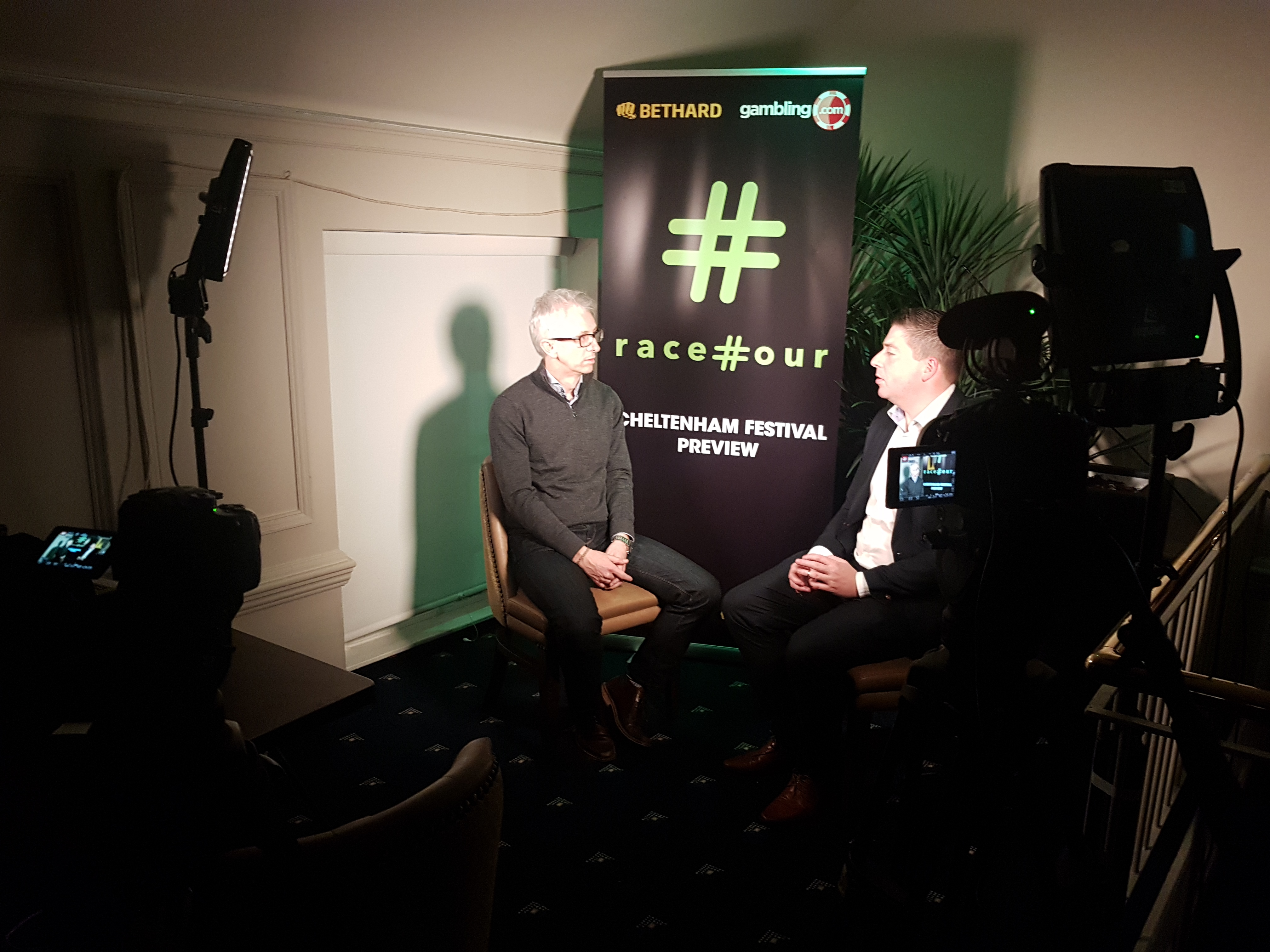 Racehour Cheltenham Preview Night Live Event Recording Interview Corner