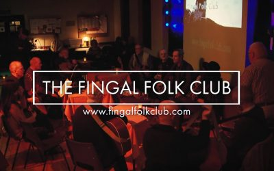 Live music event video recording @ The Fingal Folk Club Ft Donal Clancy